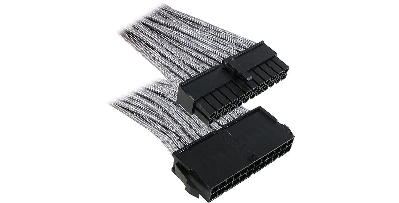 Bitfenix Przedłużacz 24 Pin 30cm szary BFA-MSC-24ATX45SK-RP