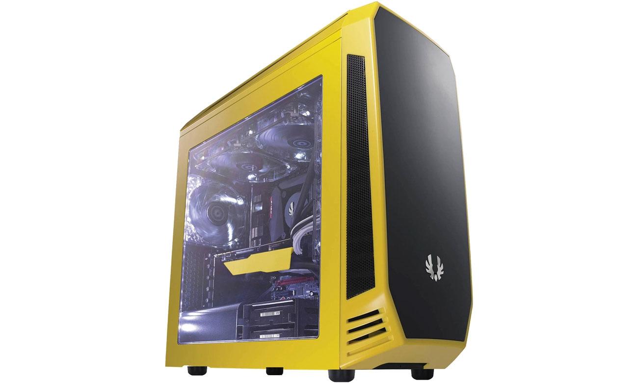 Bitfenix Aegis Core Żółto-Czarna BFC-AEG-300-YKWN1-RP