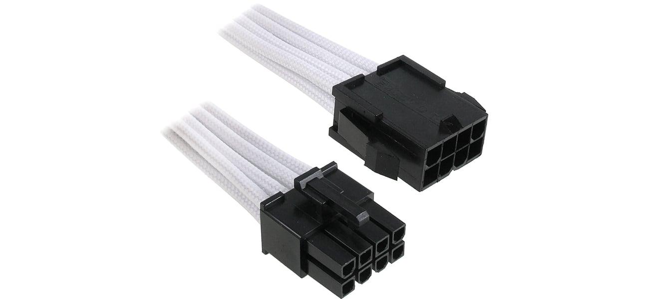 Bitfenix Przedłużacz 8 Pin 45cm biały BFA-MSC-8EPS45WK-RP