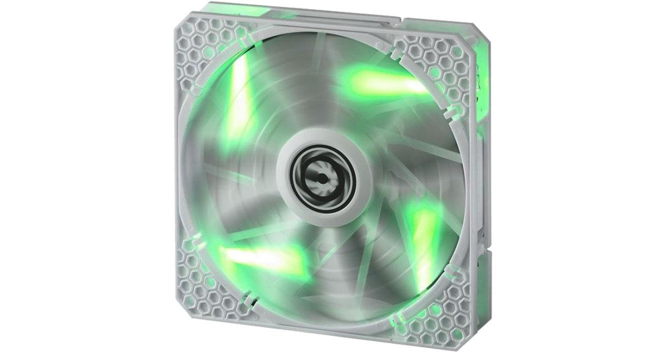 Wentylator do komputera Bitfenix Spectre PRO 120mm zielony LED (biały)