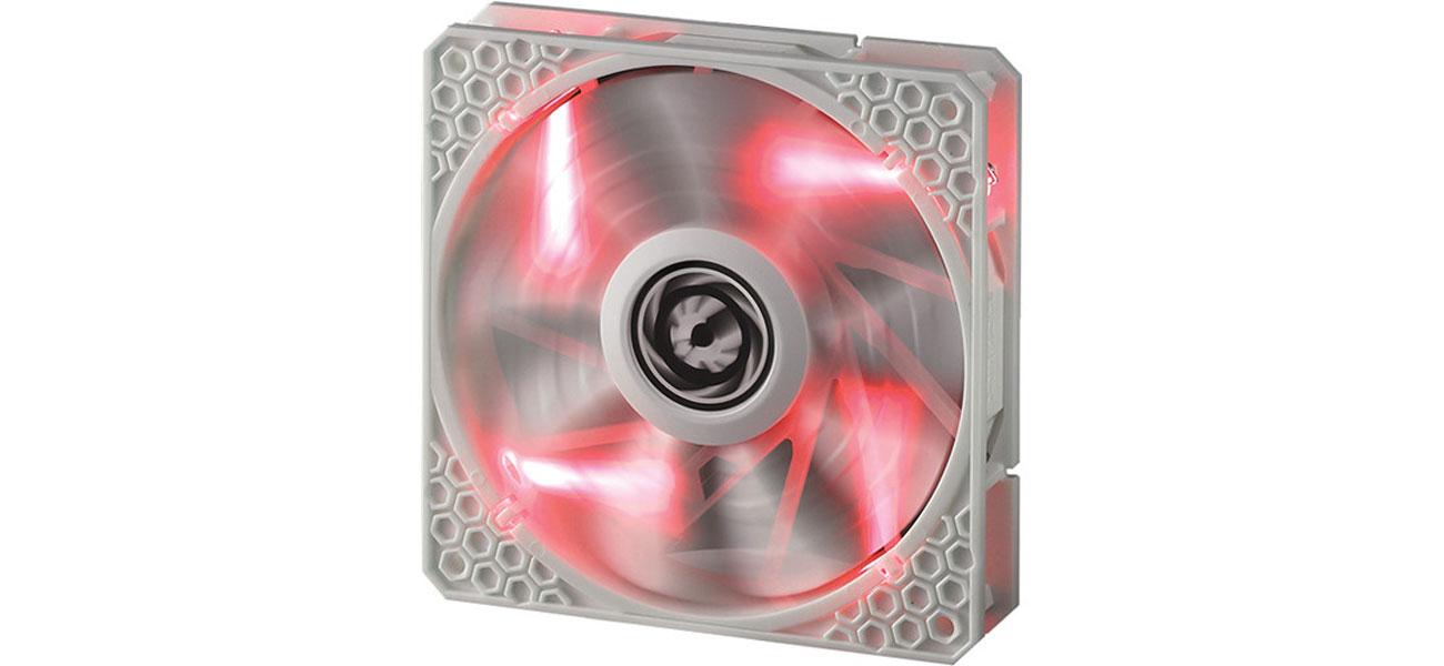 Wentylator do komputera Bitfenix Spectre PRO 120mm czerwony LED (biały)