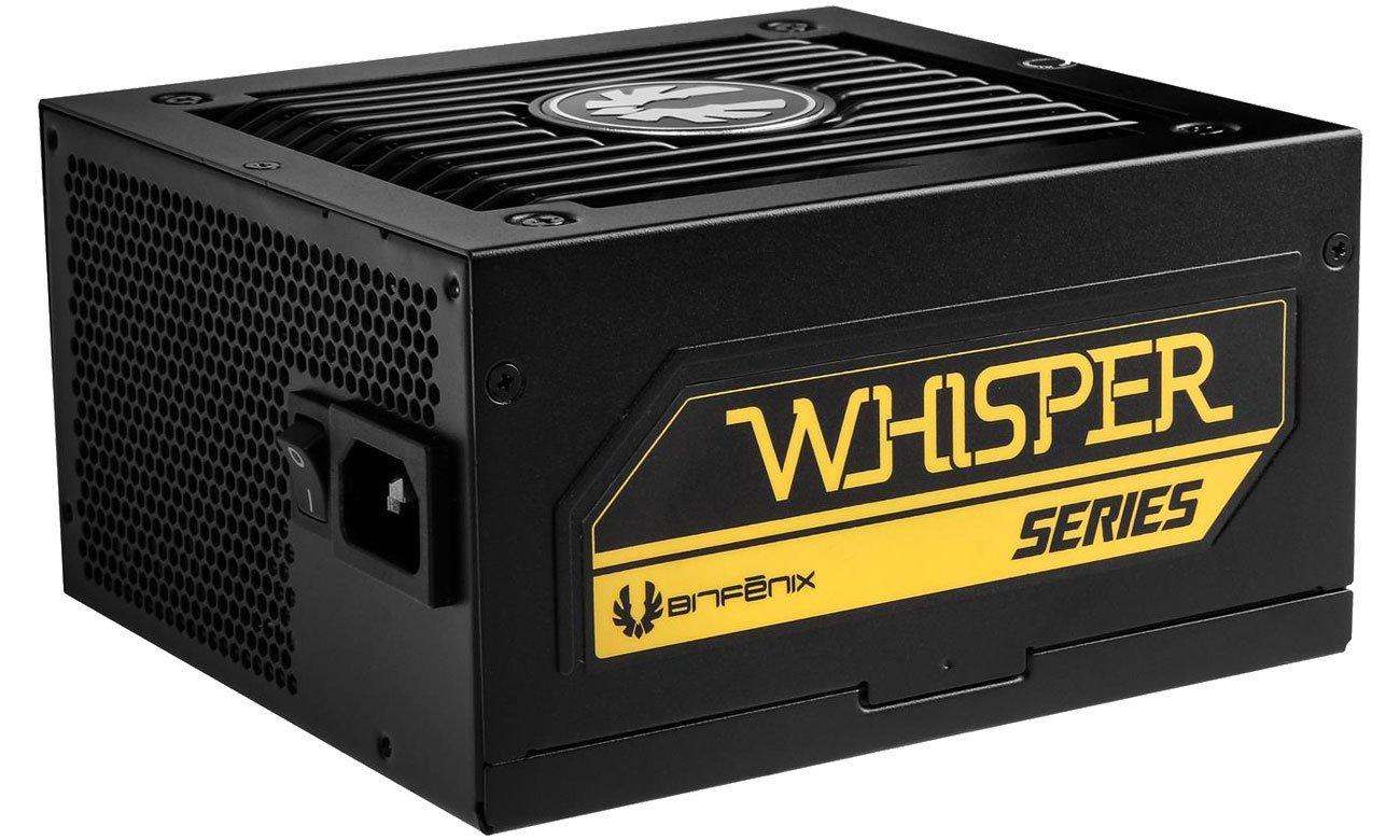 Zasilacz do komputera Bitfenix Whisper M 80 Plus Gold (650W)