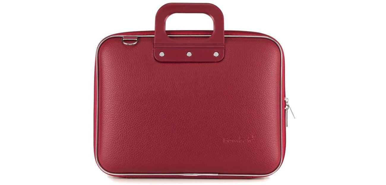 Torba na laptopa Bombata Medio 13'' burgundowa E00361-30