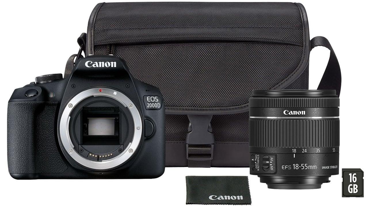 Canon EOS 2000D 18-55 IS Kluczowe Cechy