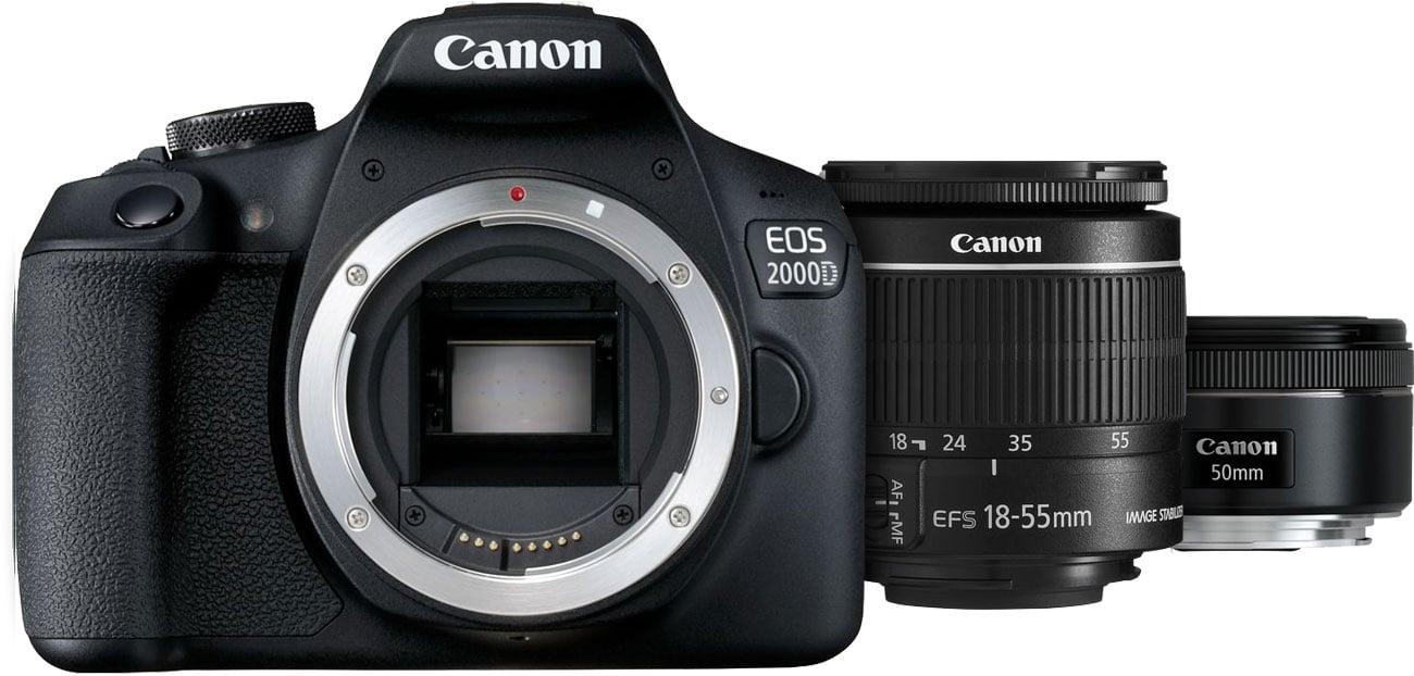 Canon EOS 2000D 18-55 IS + 50mm f/1,8S Kluczowe Cechy