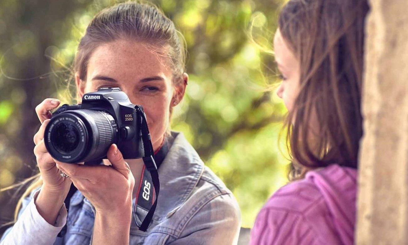 Profesjonalne filmy z aparatem Canon EOS 250D + S18-135mm