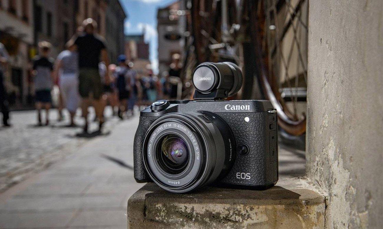 Canon EOS M6 II 15-45mm + EVF