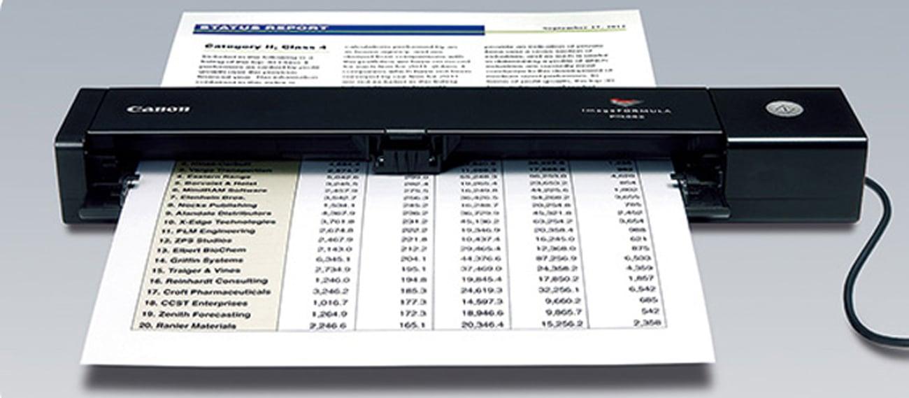 Skanowanie różnych dokumentów