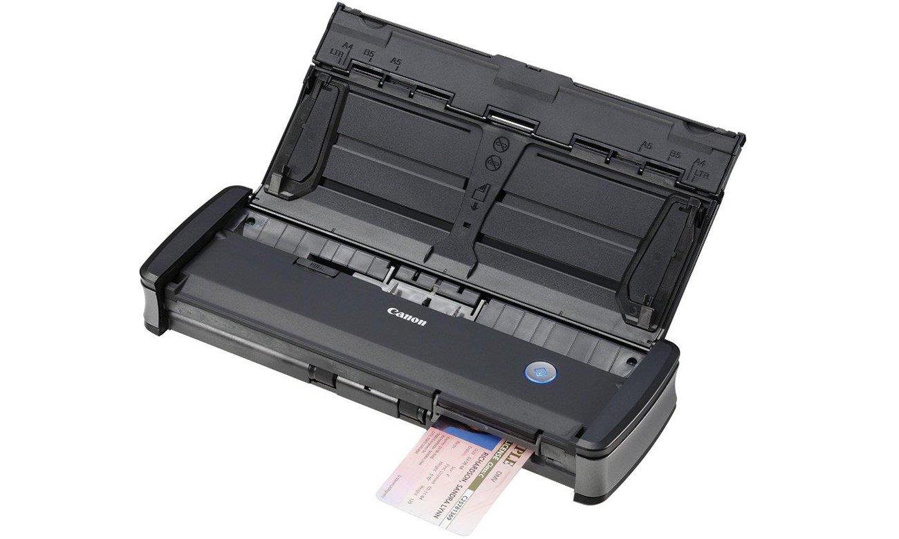 Canon P-215II Skanowanie dokumentów identyfikacyjnych