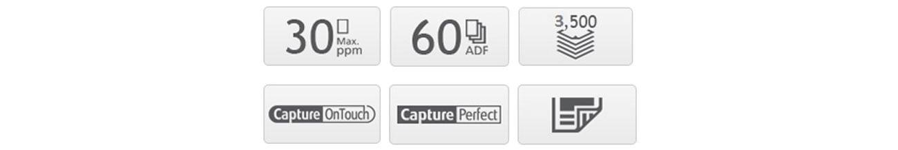 Canon DR-C230 Korzyści