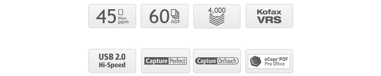 Canon imageFORMULA DR-C240 Korzyści