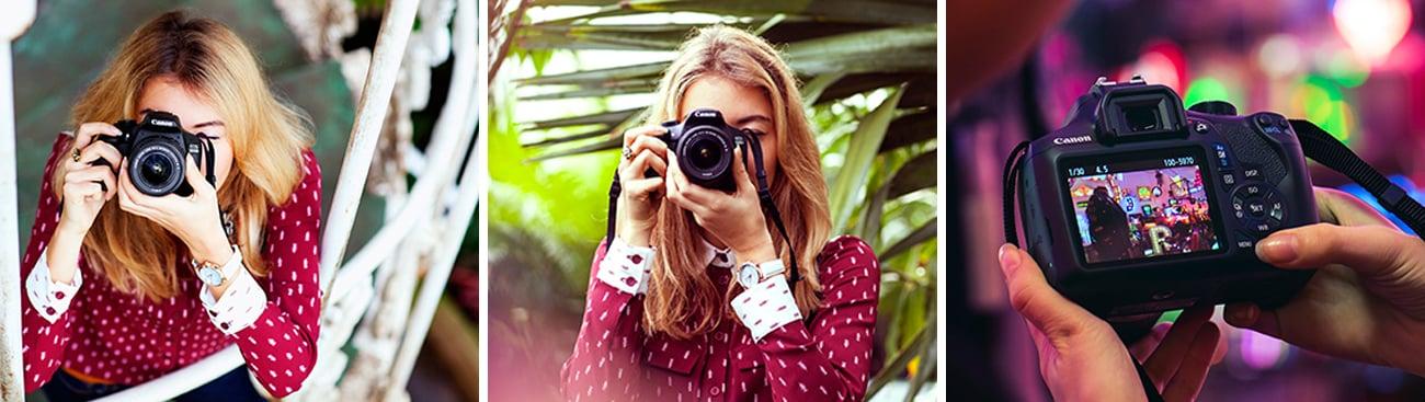 Canon EOS 1300D Funkcjonalność
