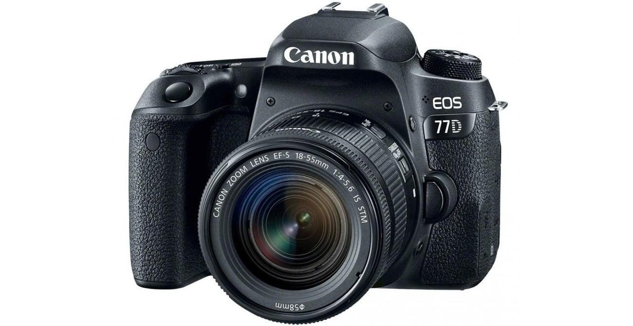 Canon EOS 77D Obiektyw