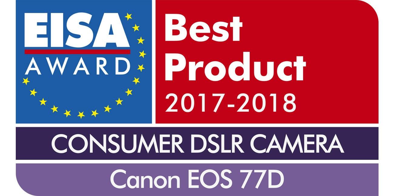 Canon EOS 77D Nagroda EISA