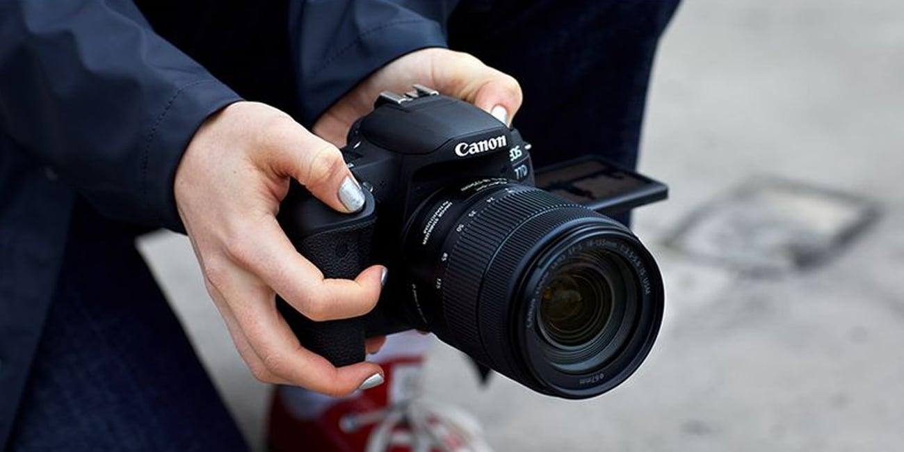 Canon EOS 77D Body Obsługa