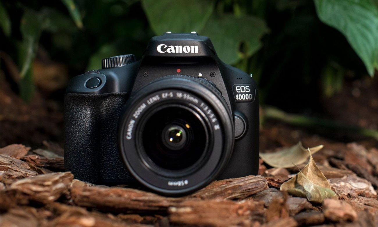 Canon EOS 4000D Widok od przodu