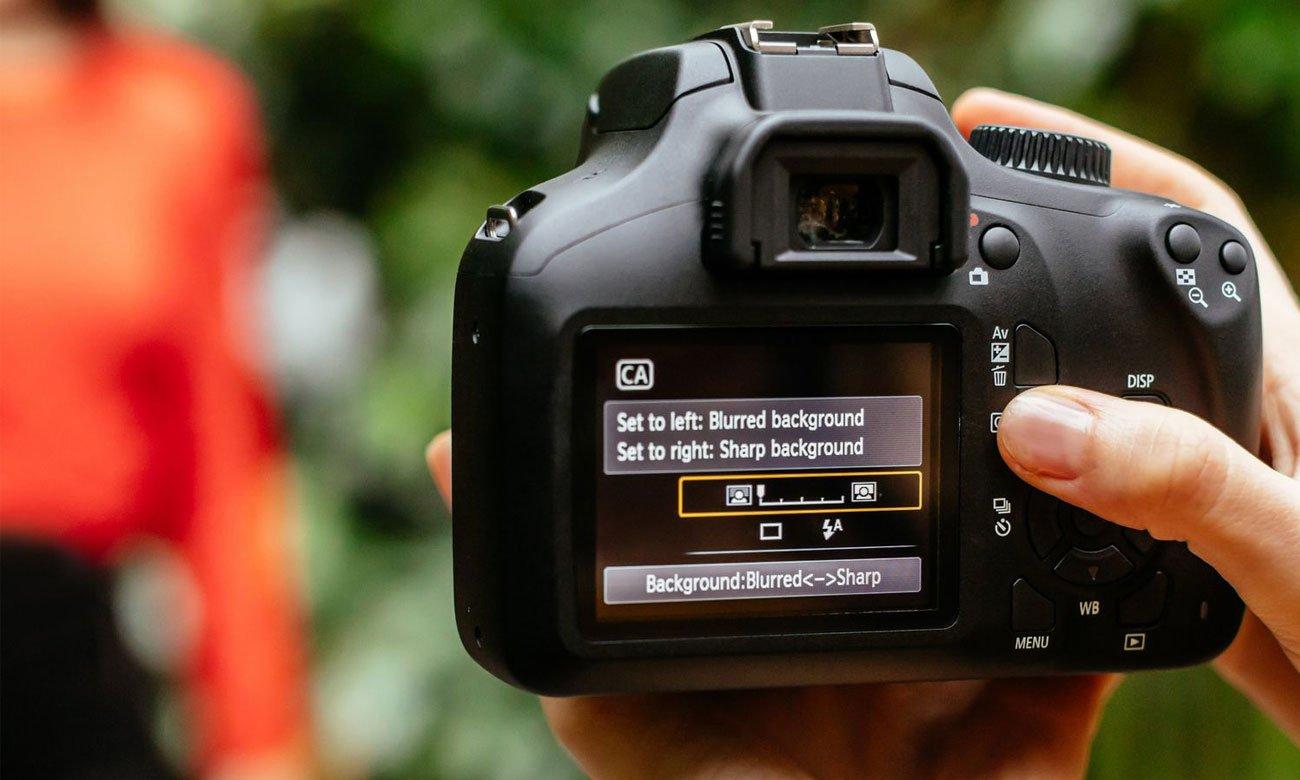 Canon EOS 4000D Ekran LCD