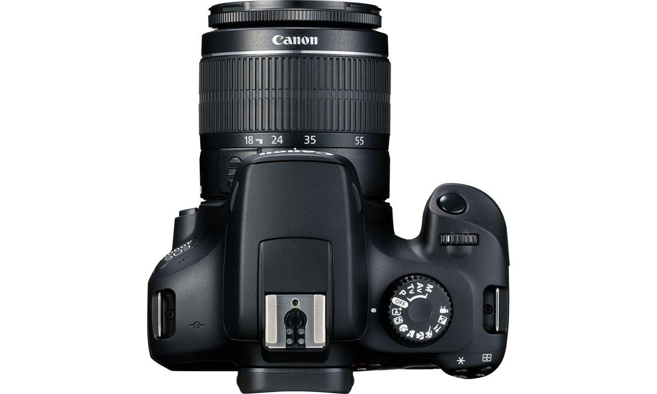 Canon EOS 4000D Widok od góry
