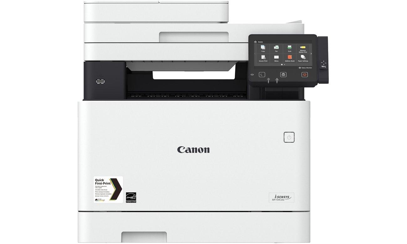 Canon i-SENSYS MF734Cdw (1474C008AA)widok z przodu