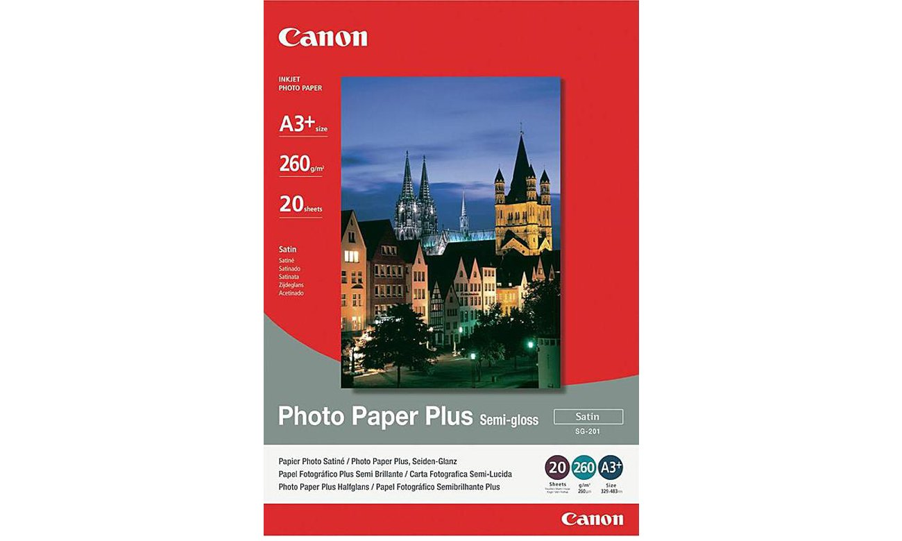 Canon Plus Semi-gloss SG-201