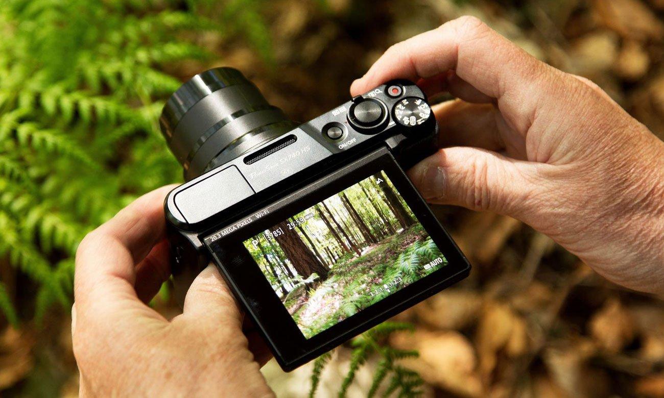 Canon PowerShot SX740 Intuicyjne ustawienia