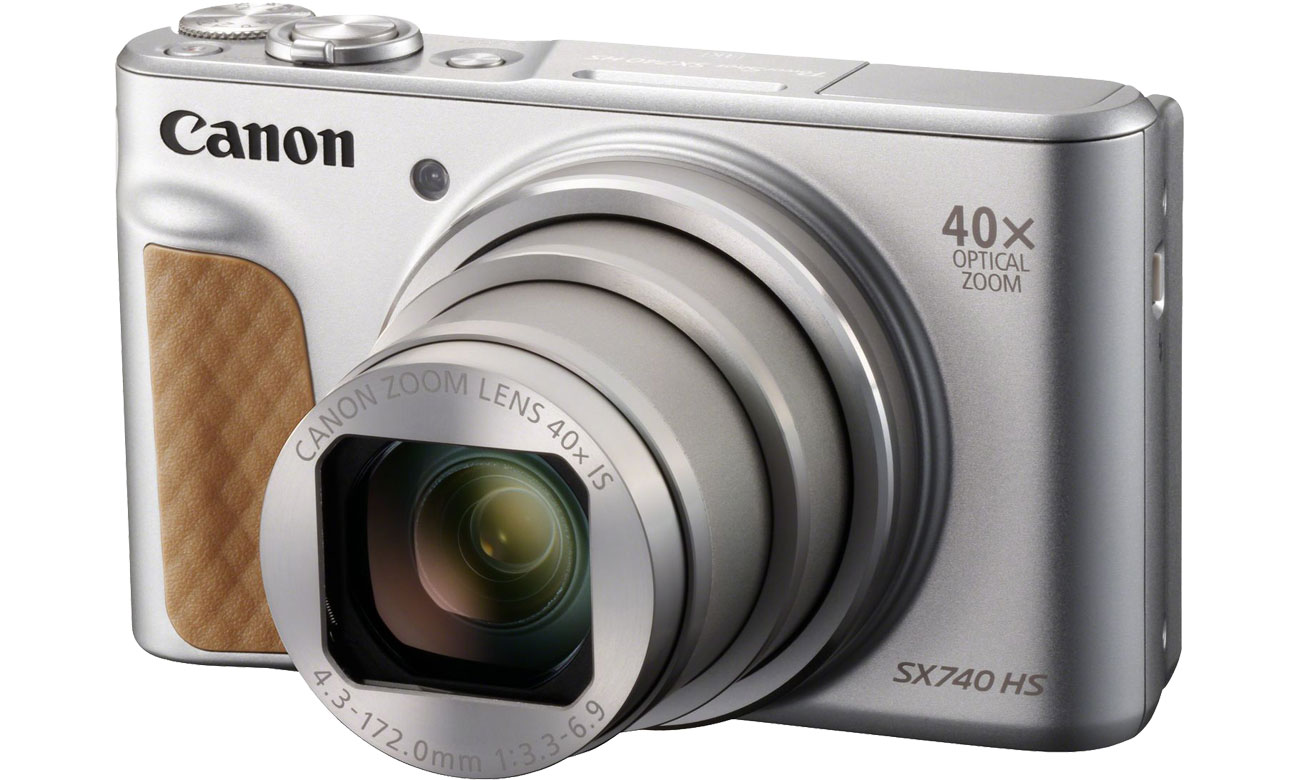 Aparat kompaktowy Canon PowerShot SX740 srebrny 2956C002AA