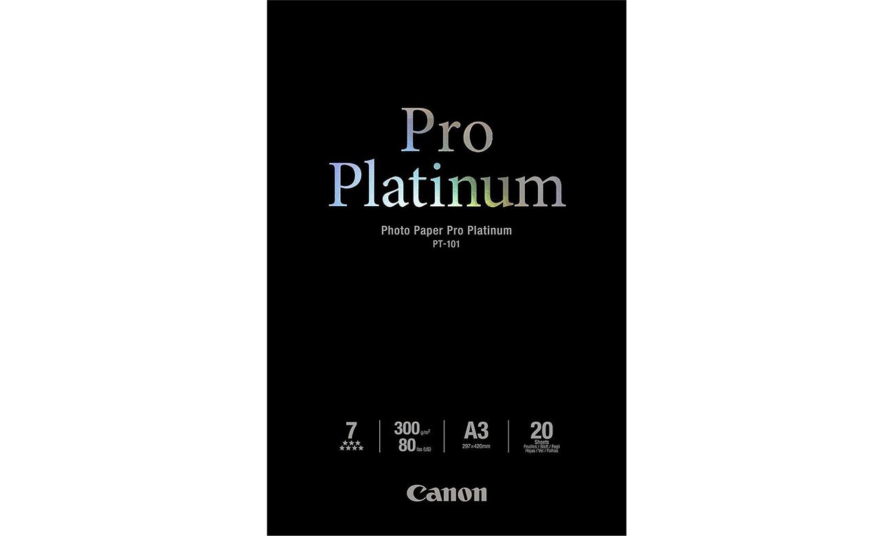 Canon Pro Platinum PT-101