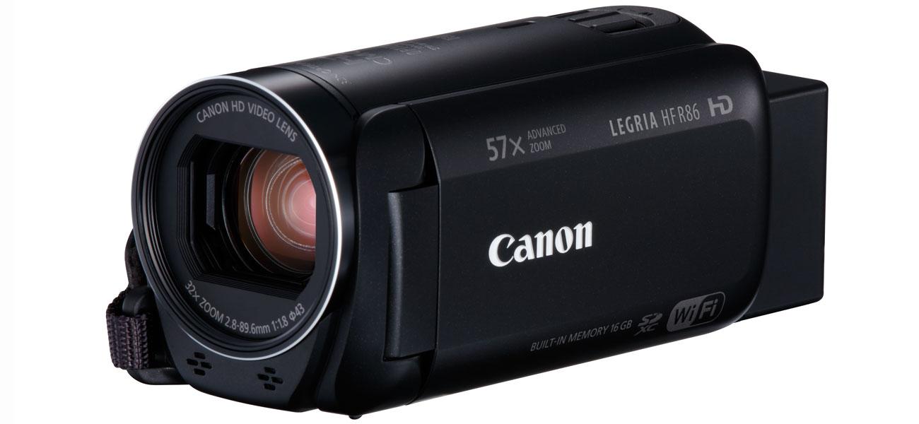 Canon Video HF R86 Kluczowe Cechy