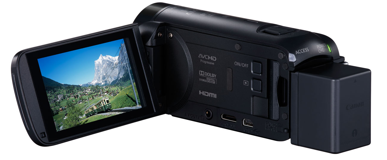 Canon Video HF Ekran LCD