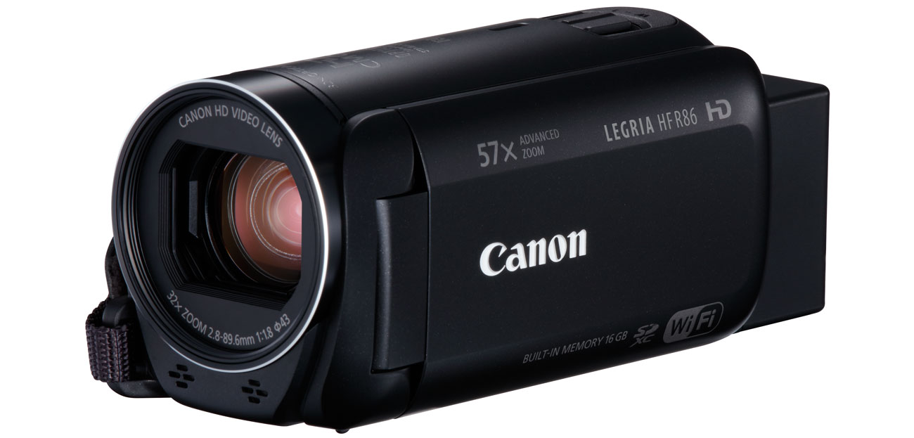 Canon Video HF R86 Zoom