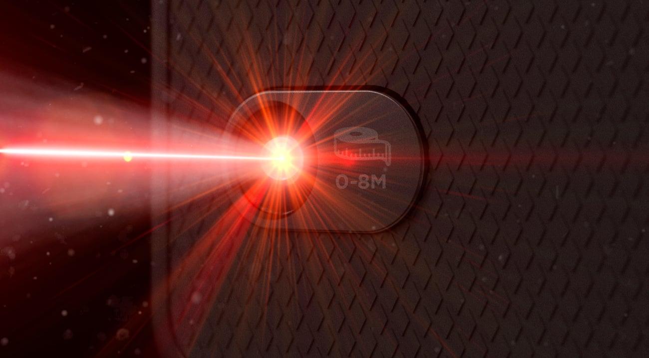 CAT S61 laserowy dalmierz czujnik jakości powietrza