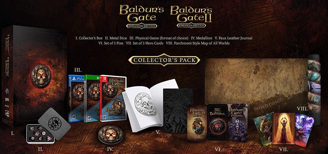 Baldur's Gate Enhanced Edition Zestaw Kolekcjonerski