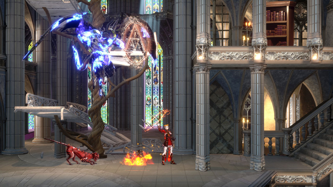 Bloodstained: Ritual of the Night - Walka