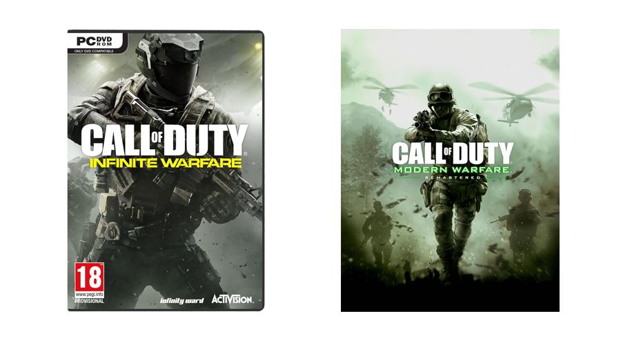 Zawartość Call of Duty: Infinite Warfare Legacy Edition