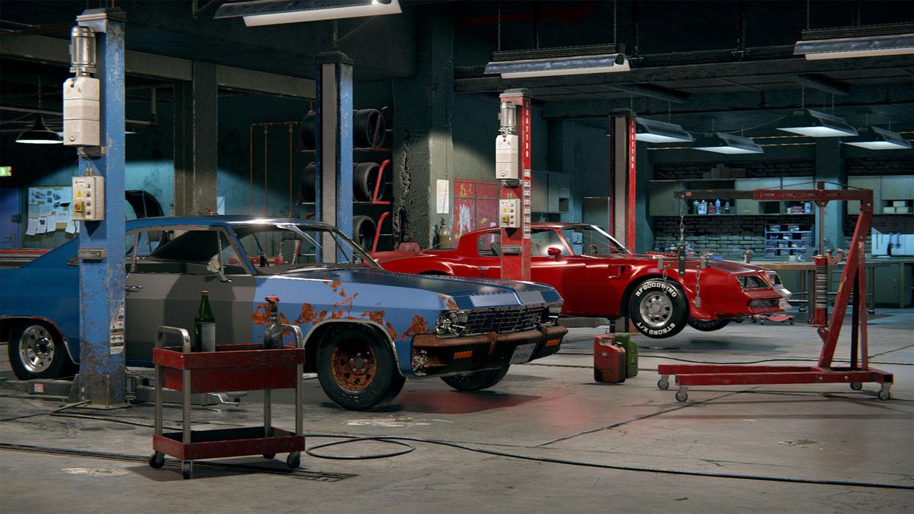 Gra PS4 Car Mechanic Simulator