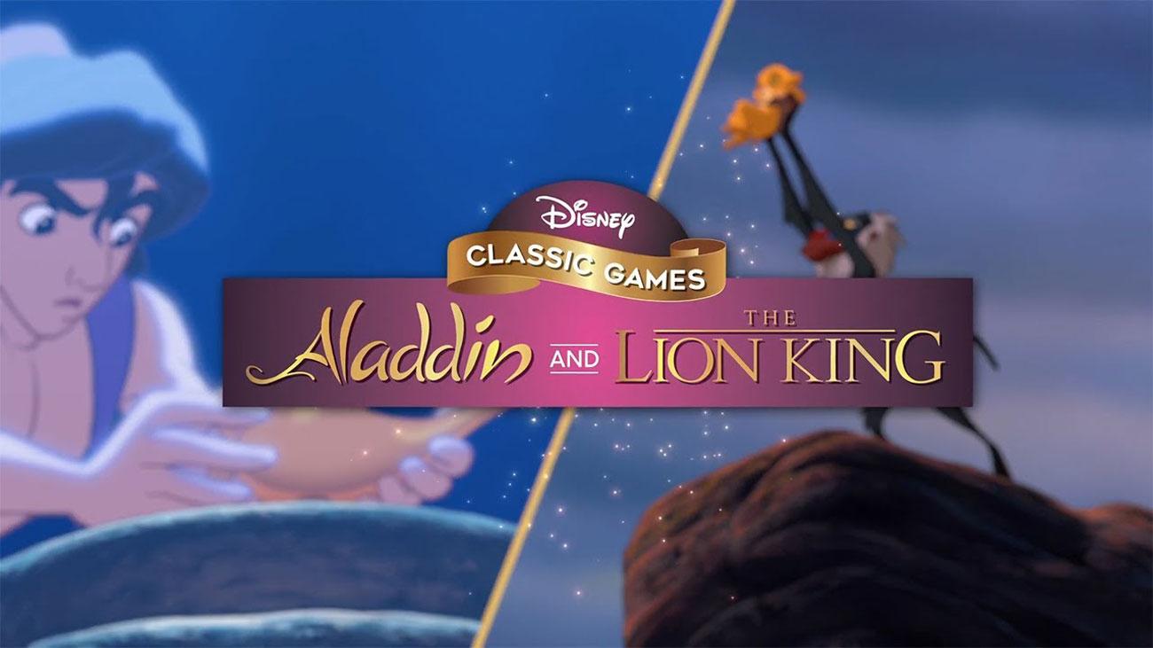 Zestaw gier PS4 Disney Classic Games: Aladyn & Król Lew