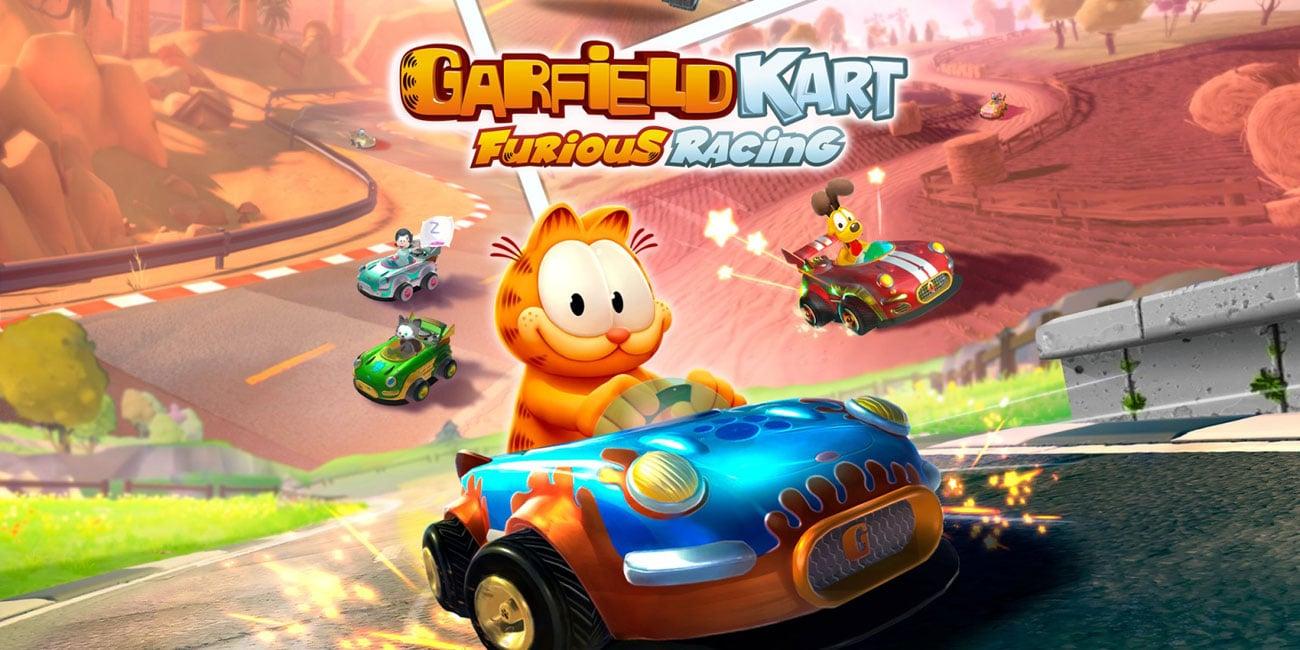 Gra Nintendo Switch Garfield Kart Furious Racing