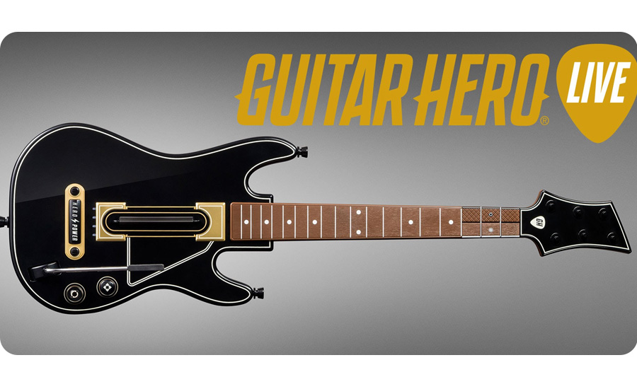 Gra Playstation 3 CD Projekt Guitar Hero Live + gitara 5030917183324