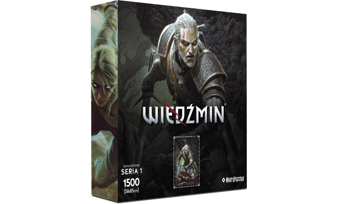 Puzzle Bohaterowie Wiedźmina Seria 1 - Geralt