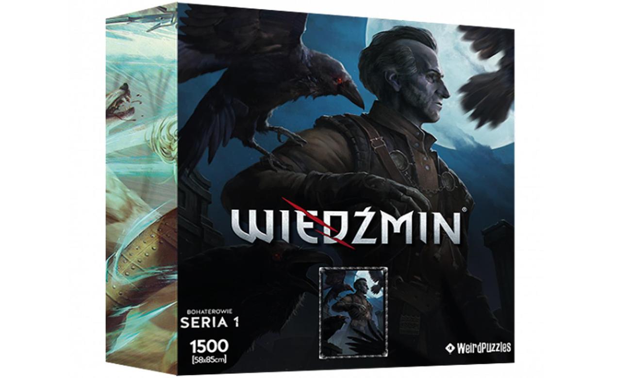 Puzzle Bohaterowie Wiedźmina Seria 1 - Regis