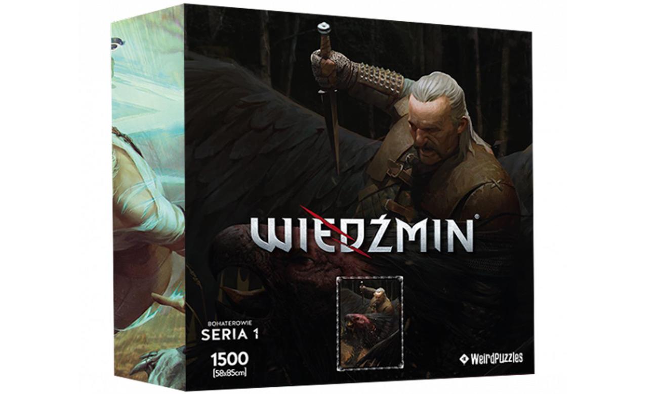 Puzzle Bohaterowie Wiedźmina Seria 1 - Vesemir