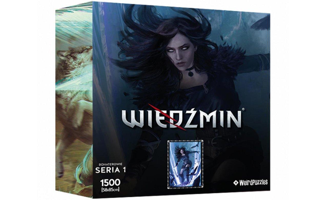 Puzzle Bohaterowie Wiedźmina Seria 1 - Yennefer