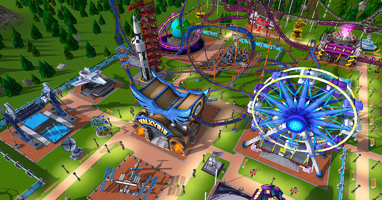 Rollercoaster Tycoon Adventures na Nintendo Switch