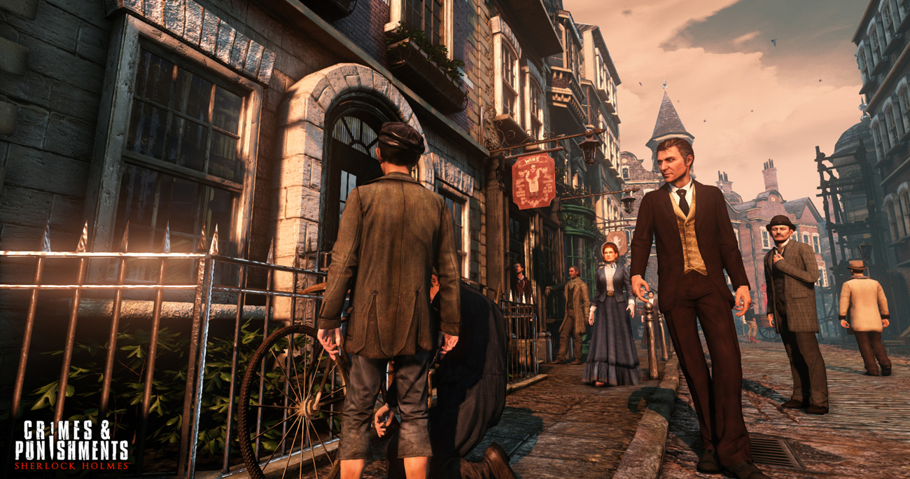 Sherlock Holmes: Crimes and Punishments PlayStation 3