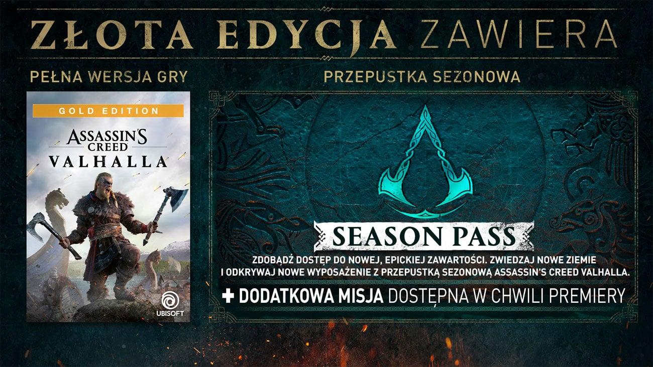 Gra Xbox One Assassin's Creed Valhalla Złota Edycja