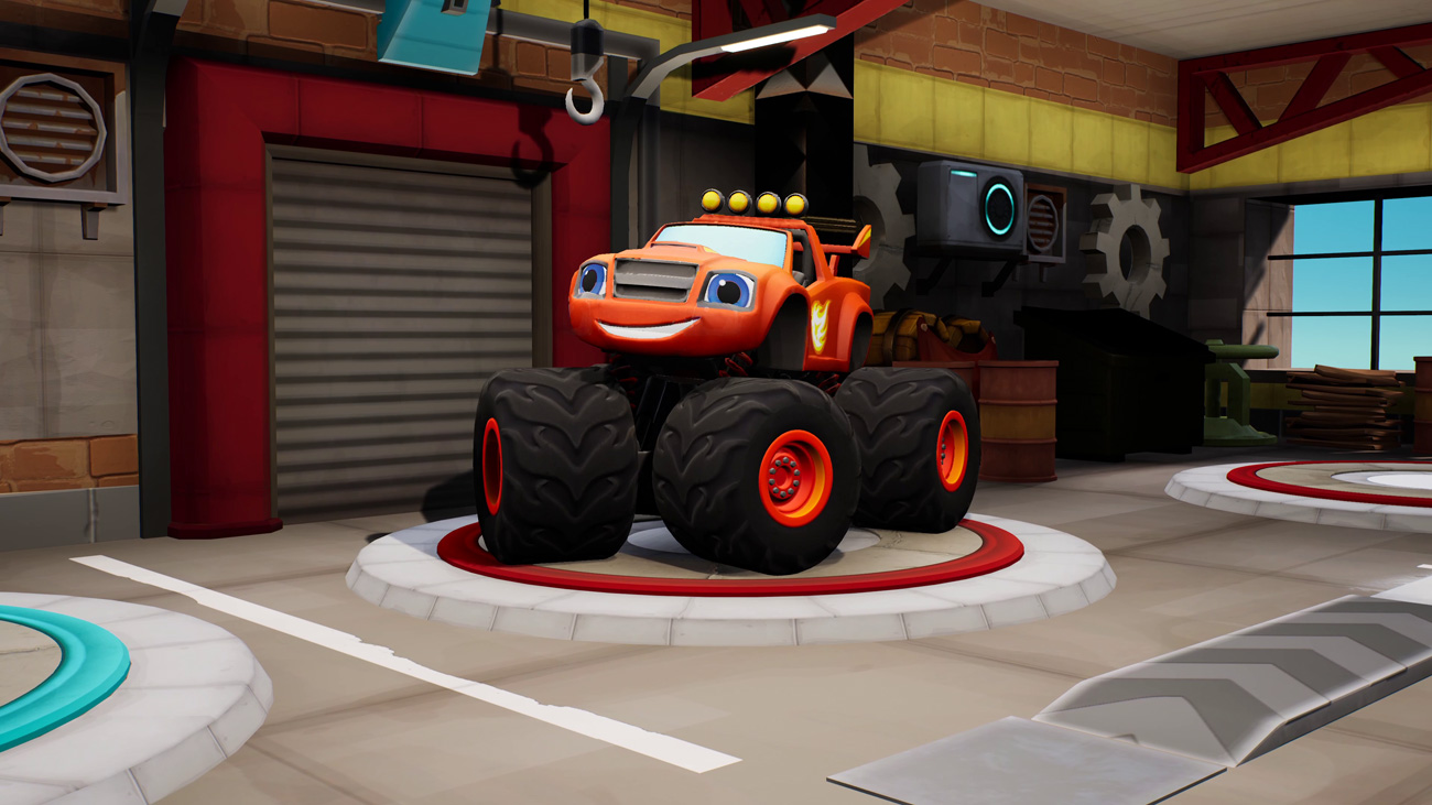 Gra Blaze i Megamaszyny: Wyścigówki ze Zderzakowa na PlayStation 4