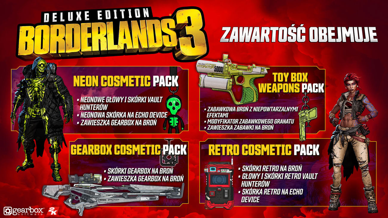 Gra Xbox One Borderlands 3 Deluxe Edition