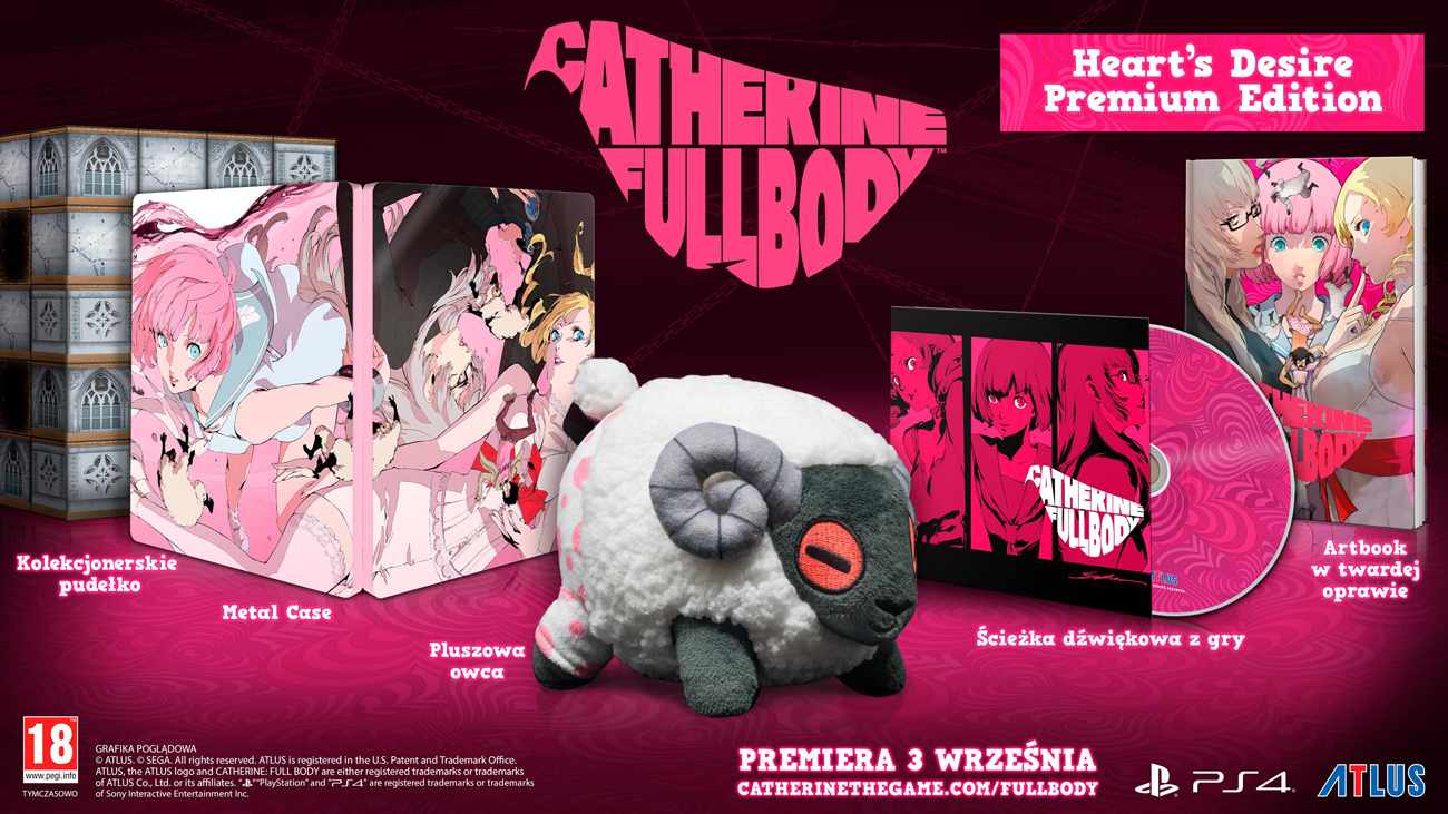 Gra PS4 Catherine Full Body Heart's Desire Premium Edition