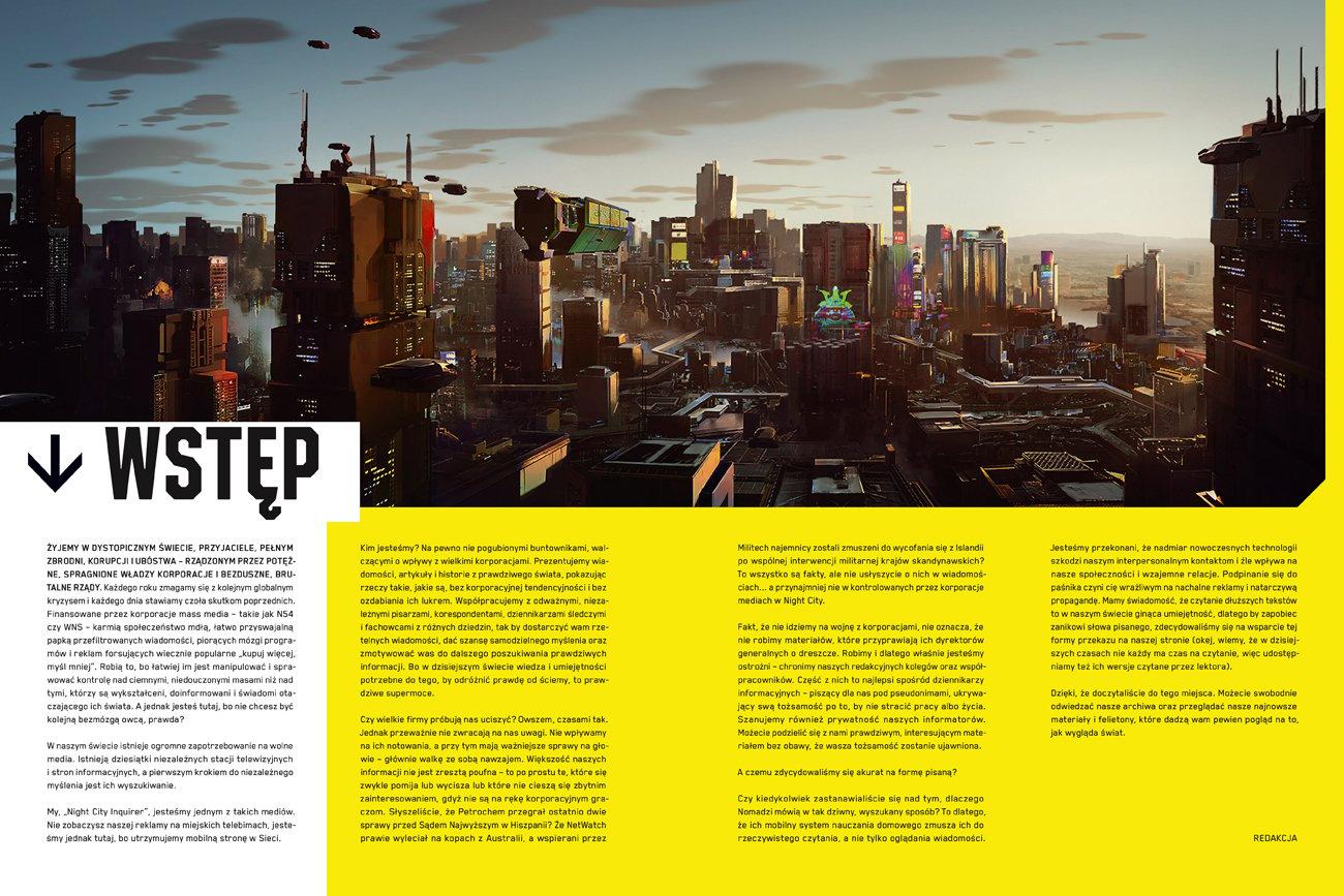 Oficjalna książka o świecie gry Cyberpunk 2077