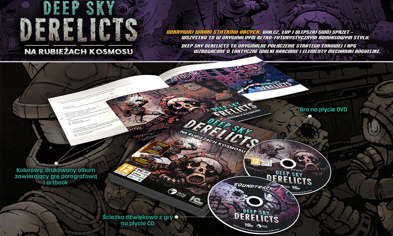 Edycja premierowa Deep Sky Derelicts: Na rubieżach kosmosu